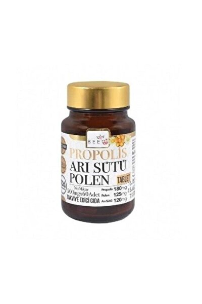 Propolis Arı Sütü Polen Yetişkin 60 Tablet