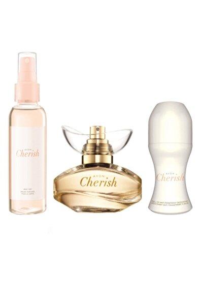 Cherish Edp 50ml Kadın Parfüm + Sprey + Roll On 266065906