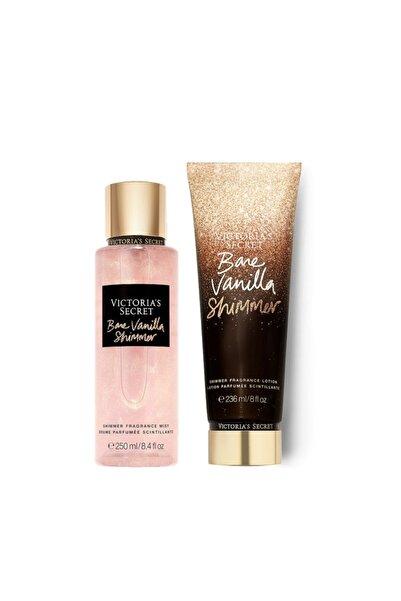 Bare Vanilla Shimmer Vücut Losyonu Ve Spreyi 2'li Set