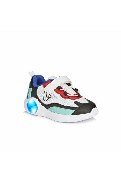 Yoda Unisex Bebe Beyaz/siyah Spor Ayakkabı