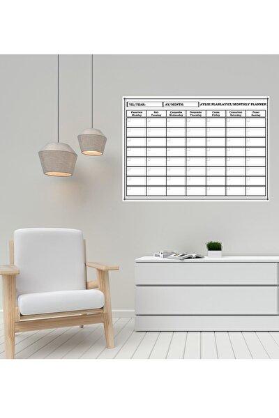 Planlayıcı Silinebilir Kağıt  50 x 70  + 4 Adet Tahta Kalemi