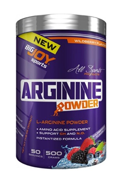 Bigjoy L-arginine Powder 500 gr - Orman Meyveler Aromalı