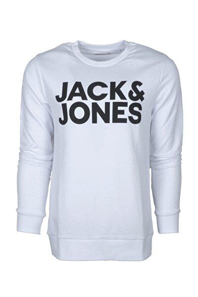JJECORP LOGO SWEAT CREW N Beyaz Erkek Sweatshirt 101016158