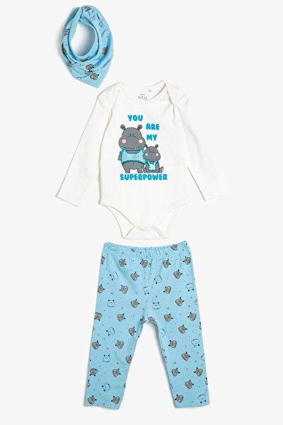 Erkek Bebek Mavi Bebek Takımları 0YNB14310ZK