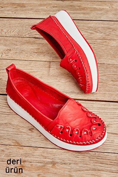 Kırmızı Kadın Ayakkabı L0504191203