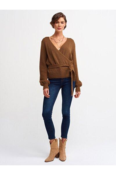 4222 Vintage Kumaş Likralı Pantolon-lacivert