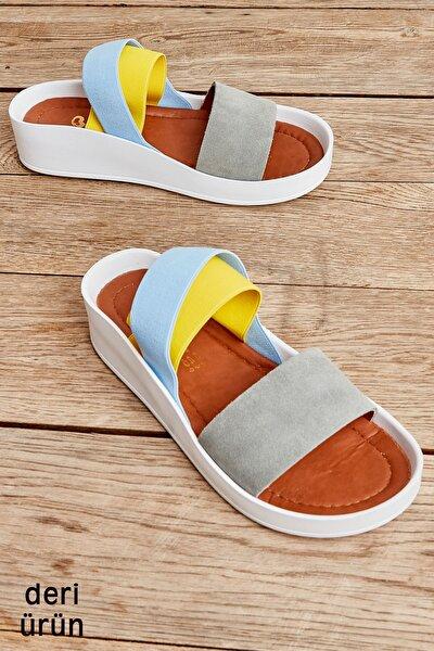 Açık Gri Kadın Sandalet L0515131002