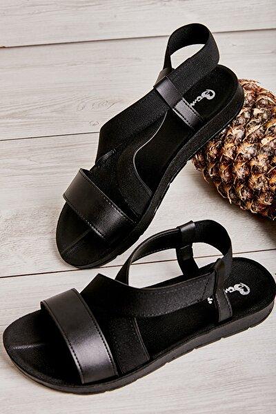 Sıyah Kadın Sandalet L0642222209