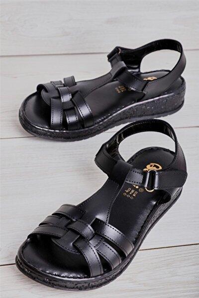 Siyah Kadın Sandalet L05178122