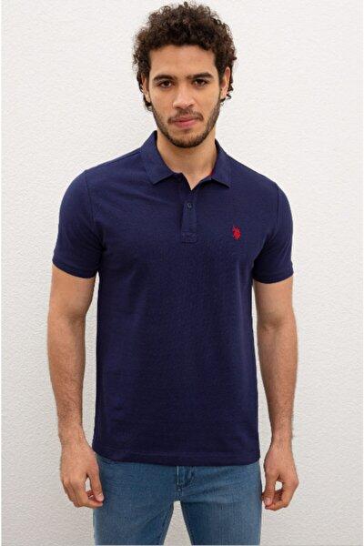 Erkek Açık Lacivert Polo Yaka T-shirt