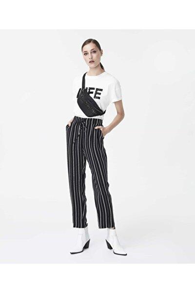Çizgi Desen Pantolon