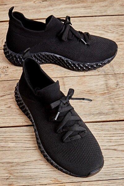 Siyah Kadın Sneaker L0816048882