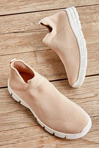Bej Kadın Sneaker K01816153682