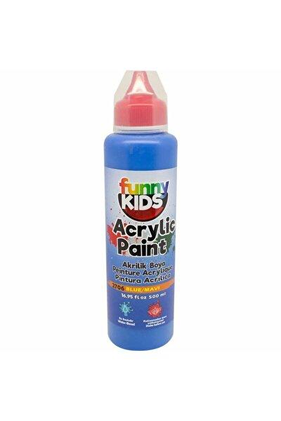 Funny Kids Akrilik Boya 500ml - 2706 Mavi