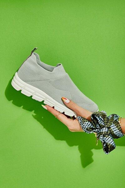 Gri Kadın Sneaker K01816153682