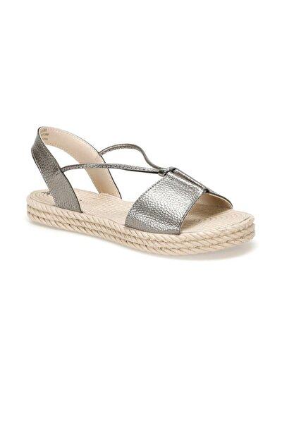 19s-463 Antrasit Kadın Sandalet