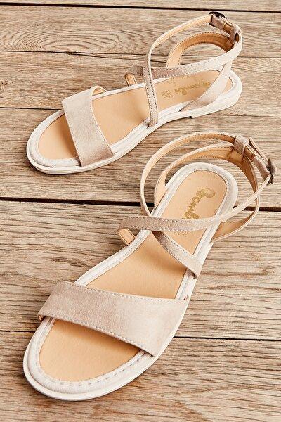 Bej Kadın Sandalet L06520711