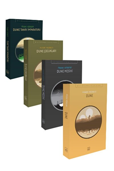 Dune Seti (4 Kitap Takım)