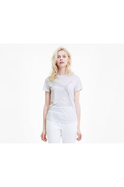 EVOSTRIPE TEE Beyaz Kadın T-Shirt 100583655