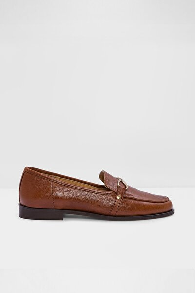 Afaucıa-tr - Taba Kadın Loafer Ayakkabı