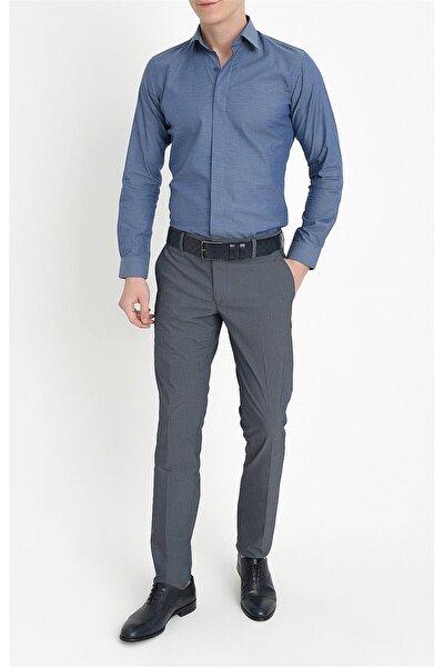 P 1063 Slim Fit Lacivert Spor Pantolon