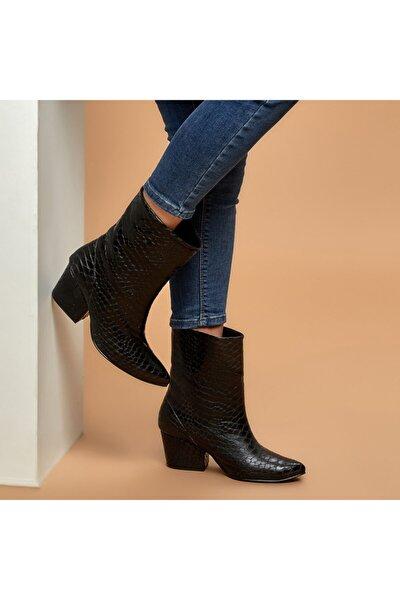 DAVİS Siyah Kadın Çizme 100527333