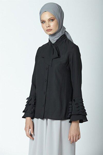 Gömlek 19ya3309 Siyah