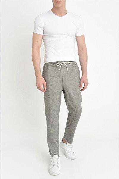 Atp 09 Slim Fit Gri Spor Pantolon
