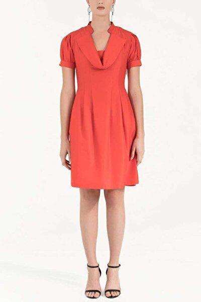 Pilili Pamuk Elbise Kırmızı 91993