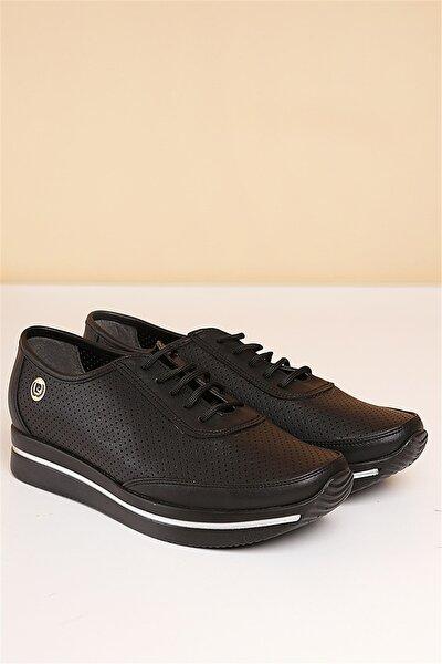 PC-50100 Siyah Kadın Ayakkabı