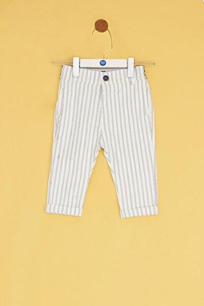Erkek Bebek Çizgili Pantolon