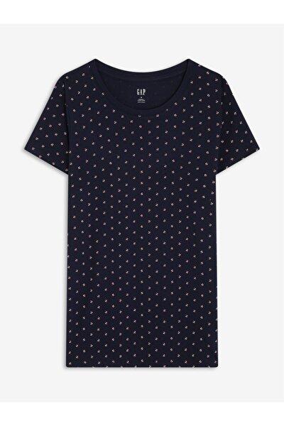 Favorite Desenli Yuvarlak Yaka T-shirt