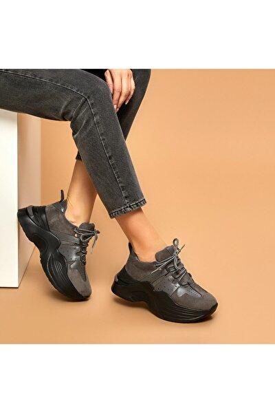 ARKİN Gri Kadın Outdoor Ayakkabı 100525589