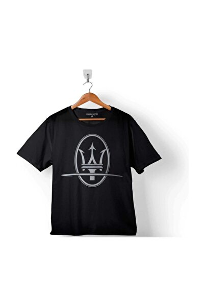 Maseratı Logo Black 2 Çocuk Tişört