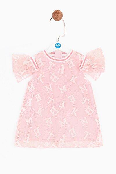 Kız Bebek Pembe Elbise
