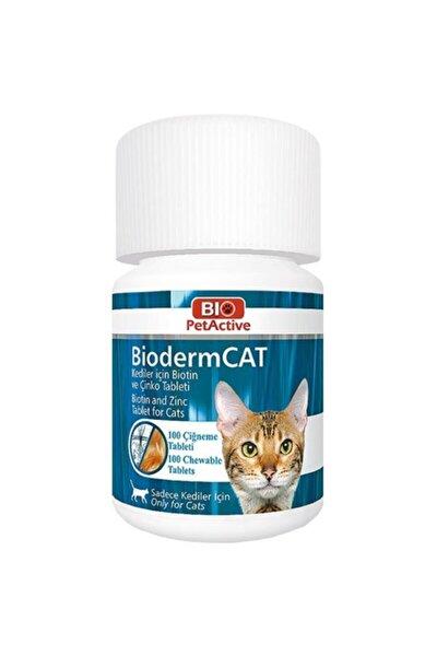 Bioderm Cat 100 Tablet Kediler Için Çinko Ve Biotin Tableti