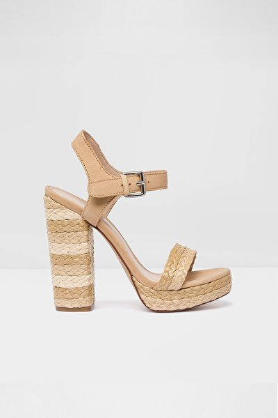 Sandaletler Natürel - Huglag