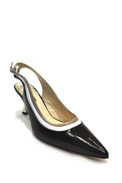 Hakiki Deri Klasik Topuklu Ayakkabı Flw19y-a9303