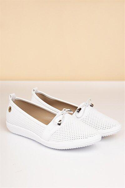 PC-50091 Beyaz Kadın Ayakkabı