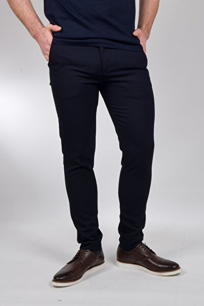 Erkek Keten Pantolon Slim Fit Siyah/krem/mavi/lacivert