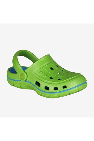 6353 Jumper Çocuk Terlik- Sandalet Yeşil-30/31