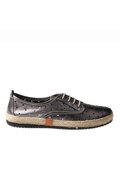 Kursun Deri Kadın Ayakkabı 236 10129-z