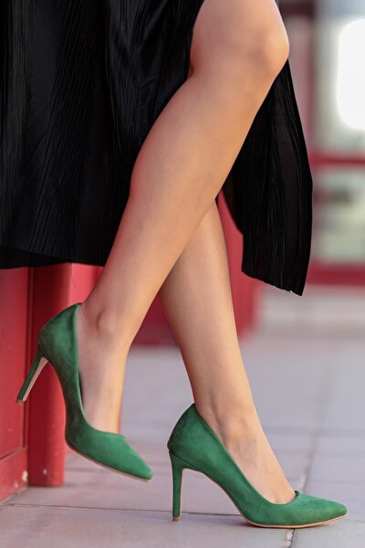 Basic Yeşil Stiletto