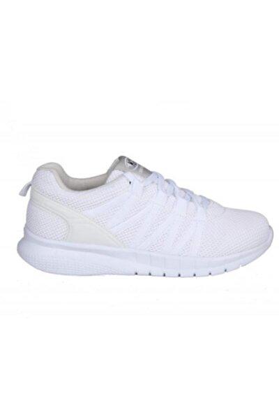 Kadın Bağcıklı Beyaz Spor Ayakkabı 201-7402zn 650