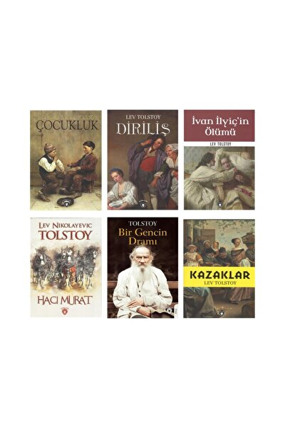 Tolstoy Set 6 Kitap