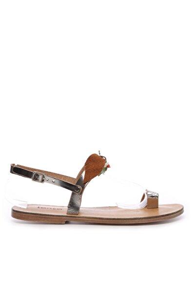 Kadın Deri Sandalet Sandalet 607 Kb35 Bn Sndlt