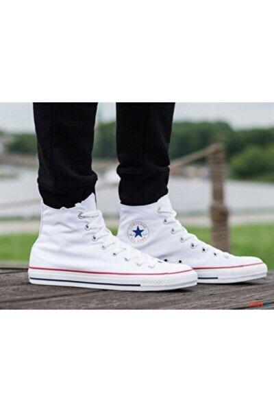 Erkek Beyaz All Star Hi Bilekli Spor Ayakkabı M7650