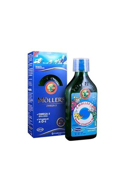 Möller's Omega 3 Cod Liver Oil 250 Ml - Karışık Meyve Aromalı