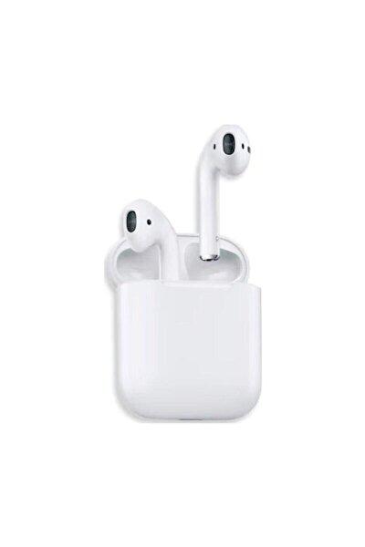 Beyaz Airpods I12 Şarj Üniteli Bluetooth 5.0 Kulaklık