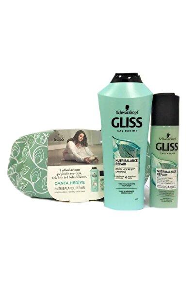Nutribalance Repair Şampuan 360 Ml + Sıvı Saç Kremi 200 Ml (çanta Hediyeli)